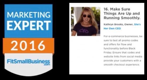 Entrepreneur CEOs! Prep Black Friday 2017 with Expert Tips
