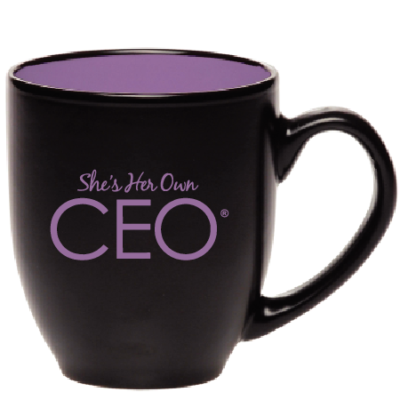 She's Her Own CEO® The Boss Coffee Mug
